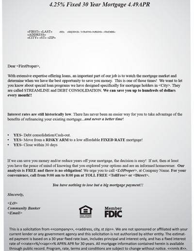 FHA Letter